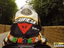 Onboard Valentino Rossi beim Goodwood Festival of Speed auf YZR M1