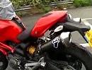 Ducati Monster 696 - Termignoni Carbon Auspuffanlage