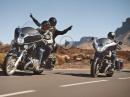 Open Road: BMW R18 B und BMW R 18 Transcontinental
