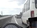 Organspender on Tour - Kopflos Motorrad Ballern auf dem Highway