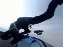 Oschersleben Highsider. Crash in den Shell Esses