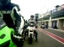 Oschersleben mit SPS mit Kawasaki ZX6R und Honda CBR600F Das erste mal Rennstrecke