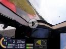 Oschersleben onboard 1:33 BMW S1000RR mit Telemetrie-Daten