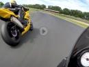 Oschersleben - Suzuki GSXR750 K7 vs BMW S1000RR, FR-Performance Trackday