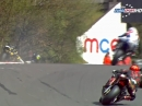 Oulton Park British Superbike R3/15 (MCE BSB) Race1 Highlights