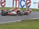 Oulton Park British Superbike R3/15 (MCE BSB) Race2 Highlights