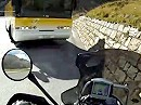 Pässefahrer aufgepasst wenn der Bus kommt - dann kanns eng werden!