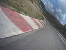 Parkmotor Castelloli (Spanien) onboard nach hinten gefilmt - Hammer