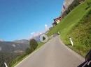Passabfahrt Hahntennjoch, Richtung Elmen