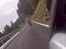 Passo Brocon (Italien, Trentino) von Canal San Bovo angefahren