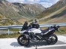 Passo del Bernina (Berninapass) zum Forcola di Livigno mit BMW R1250GS