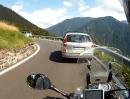 Passo del Brocon, Trentino, Italien mit Yamaha XT1200Z