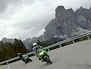 Passo di Campolongo - von Arabba über den Campolongo nach Corvara - ContourHD 1080p