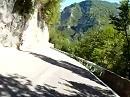 Passo di San Boldo (San Boldo Pass) von Tovena, Venetien, Italien