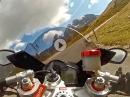 Passo Giau, Dolomiten, Südtirol mit Aprilia RSV4