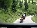 Passo Manghen, Dolomiten, Italien mit Yamaha FJR 1300
