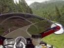 Geil: Passo Manghen Triumph Daytona 675 - Sound und Pass geil!