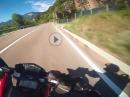 Passo Mendola (Mendelpass) onboard Ducati 821 Hypermotard SP