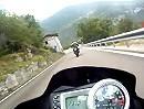 Passo Pian delle Fugazze von Rovereto. Motorradtour t5net Alpen Race Days