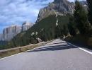 Passo Pordoi - Canazei (Pordoijoch) Dolomiten Motorradtour