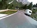 Passo Pordoj in den Dolomiten