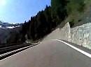 Passo Stelvio 20 Minuten Passfahrt auf 4 Minuten komprimiert - Great!