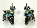 Petronas SRT 2021 Team Präsentation Franco Morbidelli and Valentino Rossi