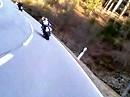 Elmsteiner Tal im Pfälzer Wald mit Yamaha XJR und Action Cam