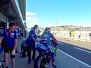 Phillip Island 2017 Yamaha MotoGP Testimpressionen vom ersten Tag