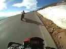 Pikes Peak Hillclimb - Greg Tracy - 2010 Ducati Multistrada Practice Run