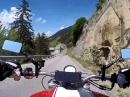 Pillerhöhe (Österreich) mit Ducati Monster