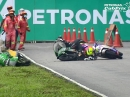 Pleiten, Pech und Crashes - Boom Bang! Top Crashes From the 2020 Malaysian Cub Prix
