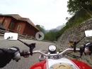 Plöckenpass, SS52 im Friaul mit Ducati Monster