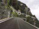 Plöckenpass von Timau (Italien) aus auf der SS52 mit BMW R1250 GS