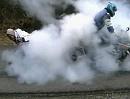 Pocket Bike vs Superbike - Double Burnout - Hauptsache Qualm Burn, Burn, Burn