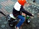Pocket Trike - erste Testfahrt