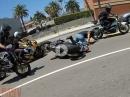 Polizeikontrolle, angehalten, abgehauen, Crash - Amis beim Streetrun
