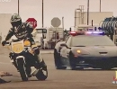 Polizei Corvette Z06 vs. Triumph Speed Triple