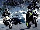 Polizei vs. Motorrad Rowdys - Driftbattle - laut, stinkt, böse, sinnlos = GEIL