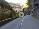 Pont du Loup (Wolfsschlucht) nach Gourdon, Provence, Südfrankreich - Traumhafte Landschaft