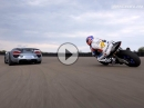 Porsche 918 Spyder vs Yamaha YZF-R1 Michelin - We are all racers