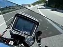 Port Bou / Spanien Küstenstrasse von Süden kommend
