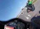 Portimao onboard (2018) 1,49,8 Yamaha R6, Patrick Hobelsberger #521