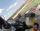 Portimao onboard BMW S1000RR mit Bridgestone Battlax S20, Ismael Bonilla