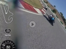 Portimao onboard Lap - Rider Coaching Gino Rea, Piotr Kloc (1:51:8)