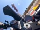 Portimao onboard: Lucas Mahias Yamaha YZF R6 - Bäämm