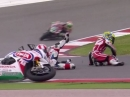 Portimao SBK-WM 2014 Race1 Highlights - Sieg für Tom Sykes