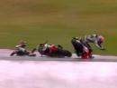 Portimao SBK-WM 2014 Race2 Highlights des Regenrennens