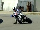 Supermoto: Powerdrifting mit Marcel van Drunen - Quertreibing in Perfection