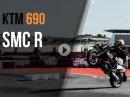 Präsentation KTM 690 SMC R in Portimao von Quickshift